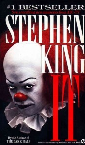 book cover for It