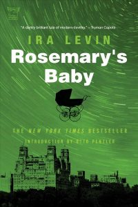 book cover for rosemary's baby