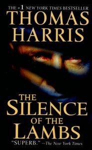 book cover for The Silence of the Lambs