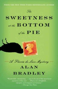 book cover for sweetness at the bottom of the pie