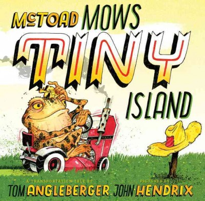 Book cover: McToad Mows Tiny Island