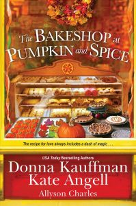 book cover The Bakeshop of Pumpkin and Spice