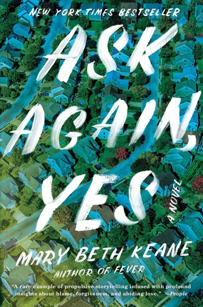 March Online Book Club: Ask Again, Yes