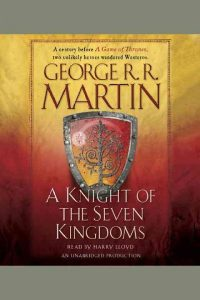 book cover knight of the seven kingdoms