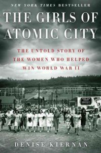 book cover for girls of atomic city
