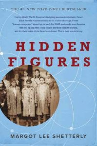book cover hidden figures