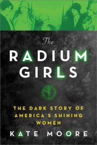 book cover for radium girlss
