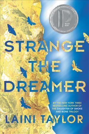 cover for strange the dreamer