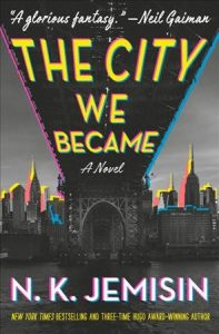 book cover the city we became