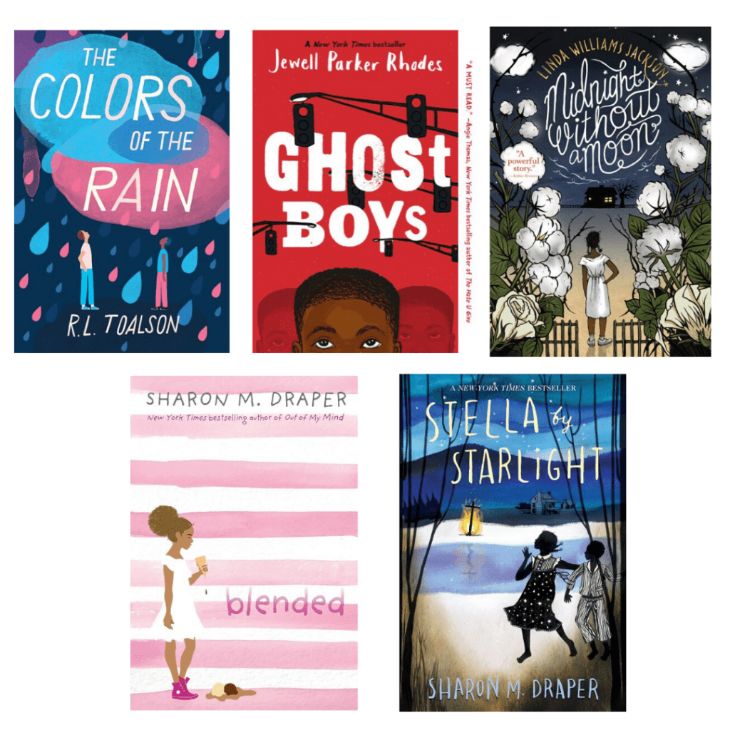 Antiracist Book Recommendations for Middle Grade Readers
