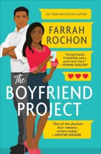 book cover for the boyfriend project