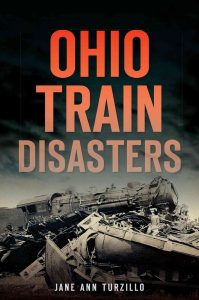 In nearly a century of heavy rail travel in Ohio, a dozen train accidents stand out as the most horrific. In the bitter cold, just after Christmas 1876, eleven cars plunged seventy-five feet into the frigid water below. The stoves burst into flames, burning to death all who were not killed by the fall. Fires cut short the lives of forty-three people in the head-on Doodlebug collision in Cuyahoga Falls in 1940 and eleven people in a train wreck near Dresden in 1912. Author Jane Ann Turzillo unearths these red-hot stories of ill-fated passengers, heroic trainmen and the wrecking crews who faced death and destruction on Ohio's rails.