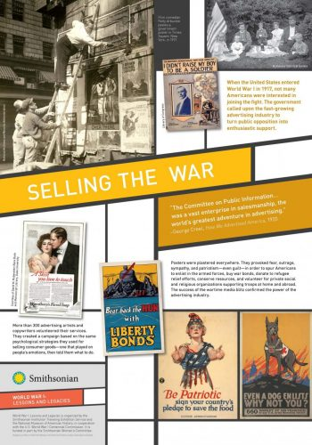 wwi selling the war