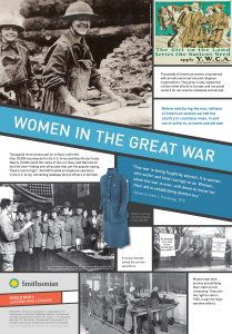 wwi women in war