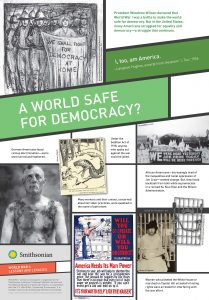 wwi a world safe for democracy