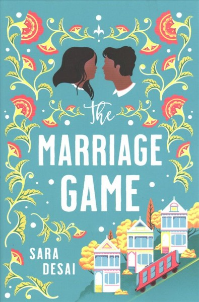 book cover for the marriage game
