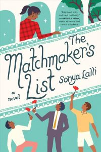 book cover for the matchmakers list