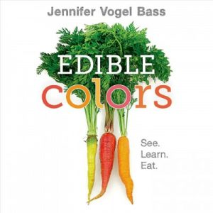 book cover for edible colors