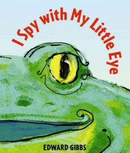 book cover for i spy with my little eye