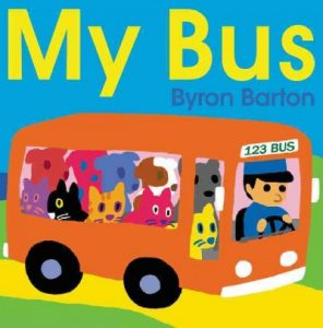 book cover for my bus