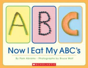 book cover for now i eat my abcs
