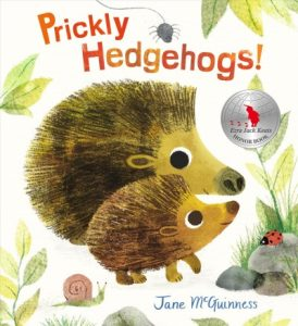 book cover for prickly hedgehogs