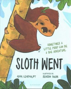 book cover for sloth went