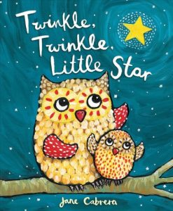 book cover for twinkle twinkle little star