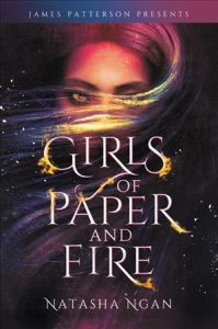 book cover for Girls of Paper and Fire