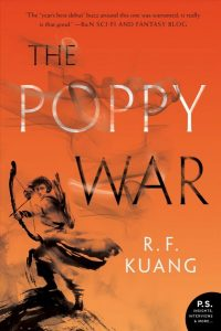 book cover for The Poppy War
