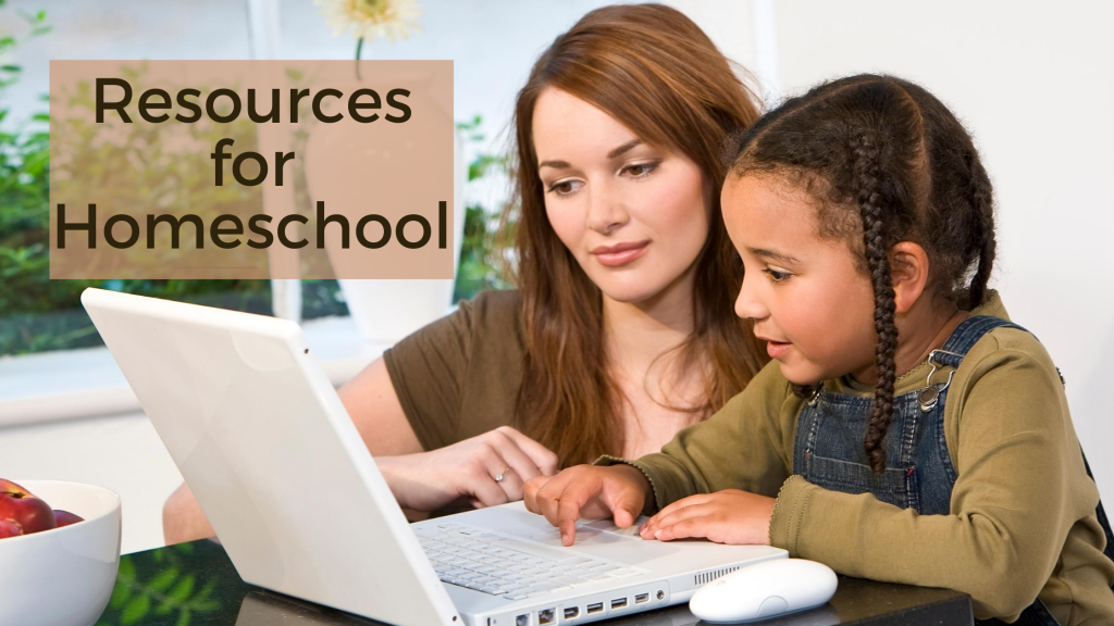 resources for homeschool
