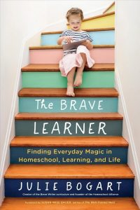 book cover for The Brave Learner
