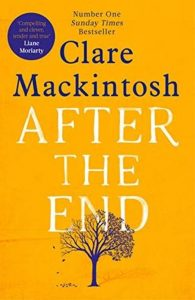 book cover for after the end
