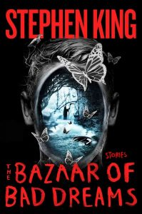 book cover for bazaar of bad dreams