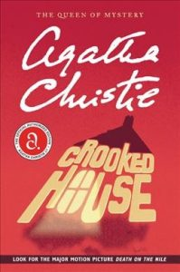 book cover for crooked house