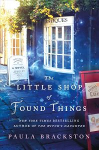 book cover for the little shop of found things