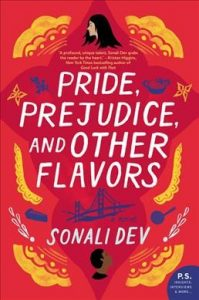book cover for pride prejudice and other flavors