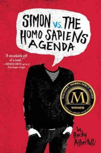 book cover for simon vs the homo sapiens agenda