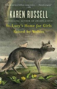 book cover for saint lucy's home for girls