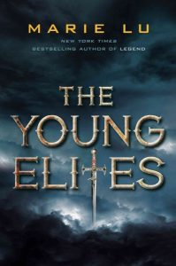 book cover for young elites