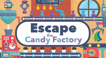 escape room - candy factory