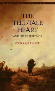 book cover for the tell-tale heart