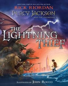 cover for the lightning thief