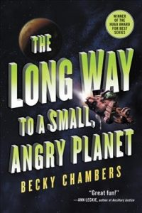 cover for The Long Way to a small angry planet