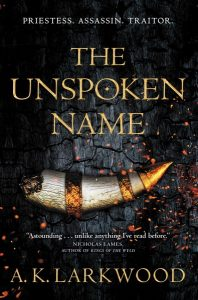book cover for The Unspoken Name
