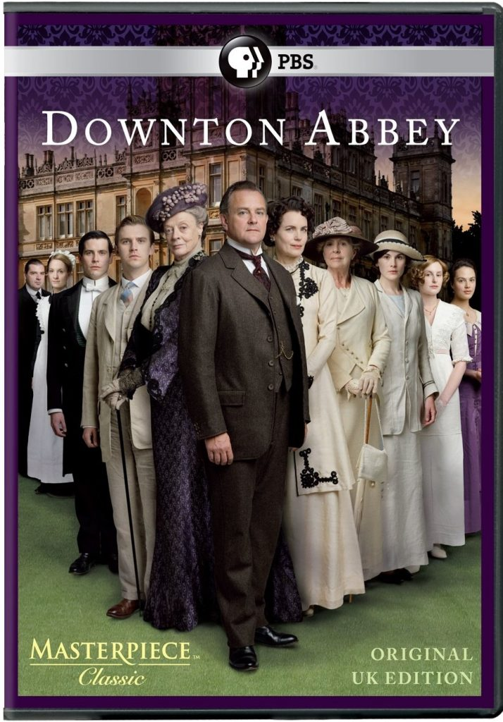 Cover of Downton Abbey DVD