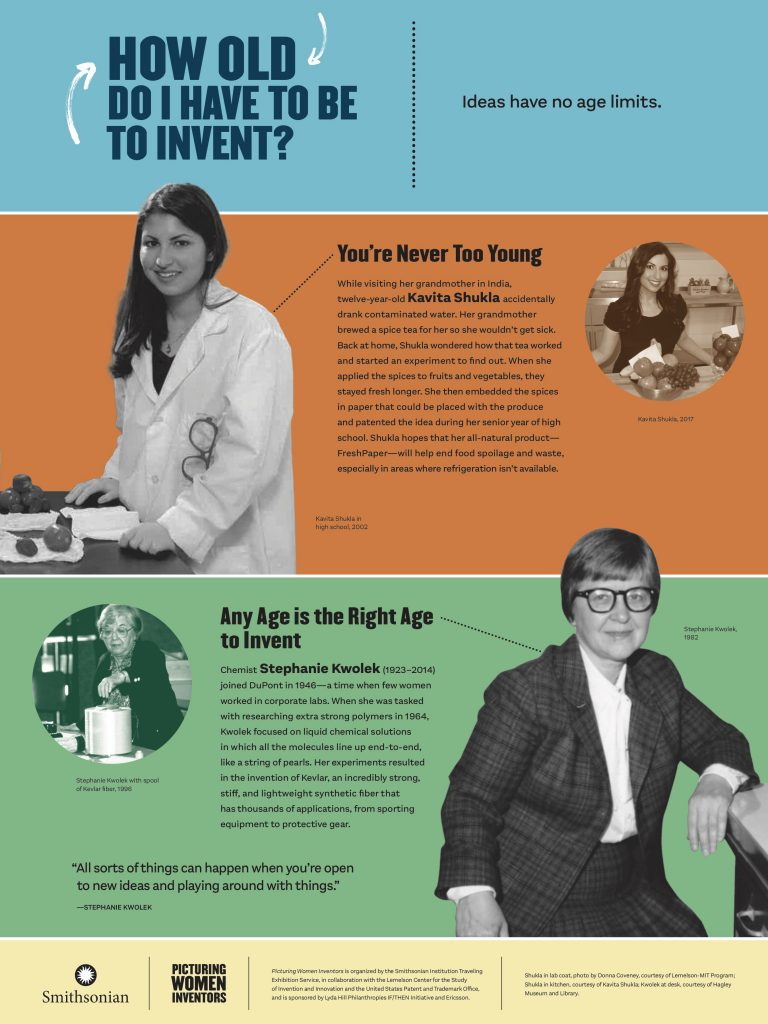 Picturing Women Inventors: How Old Do I Have to Be
