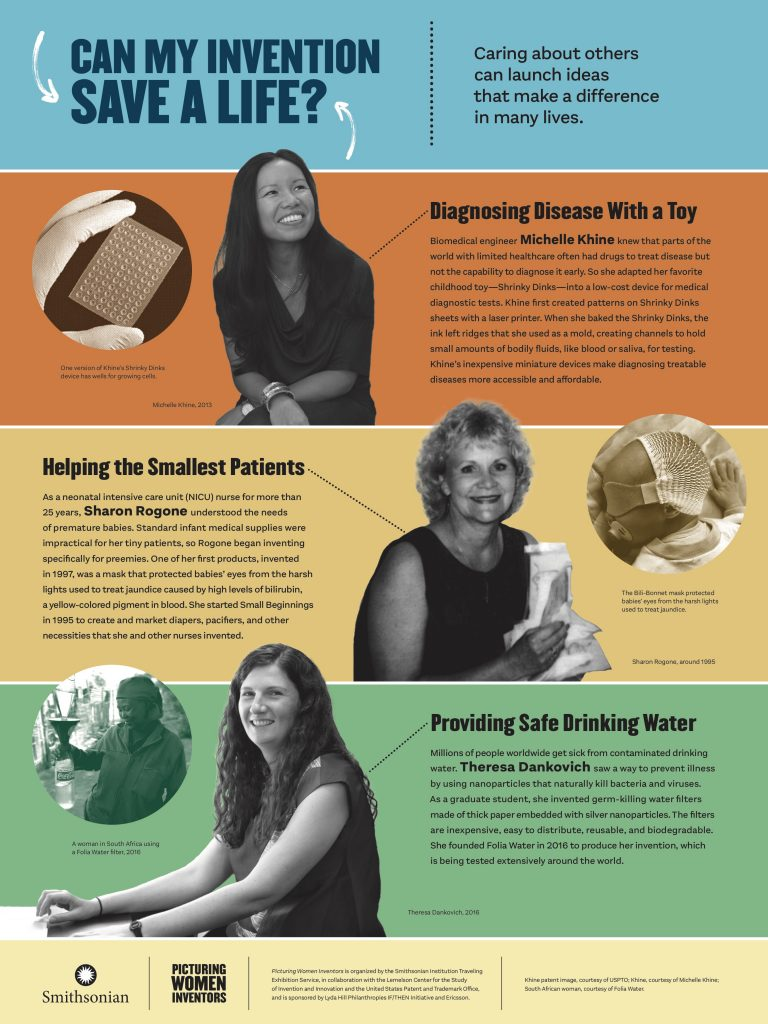 Picturing Women Inventors: Can My Invention Save a Life