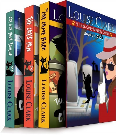 The 9 Lives Cozy Mystery Series Books 1 - 3 by Louise Clark