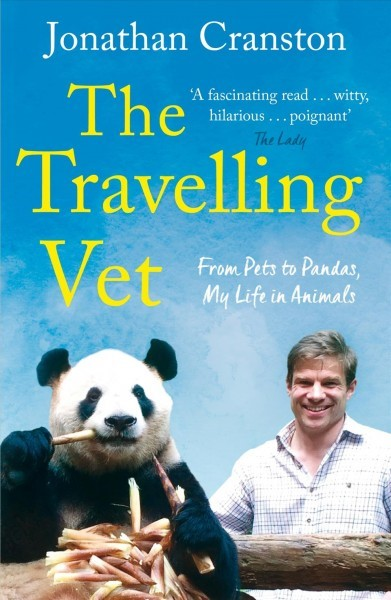 Book cover for The Traveling Vet